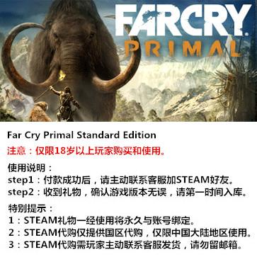 孤岛惊魂:原始杀戮 PC版 中文 STEAM国区代购(标准版)