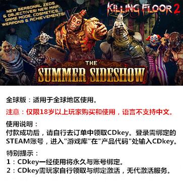 杀戮空间2 PC版 中文 全球版key