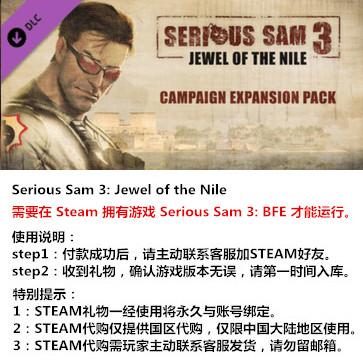 英雄萨姆3 PC版 中文 STEAM国区代购(DLC)