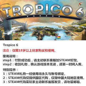海岛大亨6 PC版 STEAM国区代购(标准版)