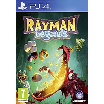 雷曼:传奇 PS4版 中文 国行盒装(标准版)