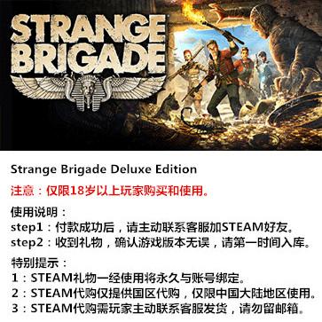 奇异小队 PC版 中文 STEAM国区代购(豪华版)