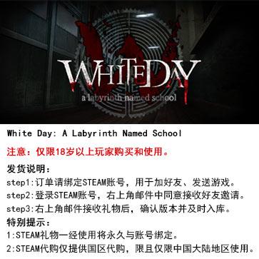 白色情人节:校园迷宫 PC版 中文 STEAM国区代购(标准版)