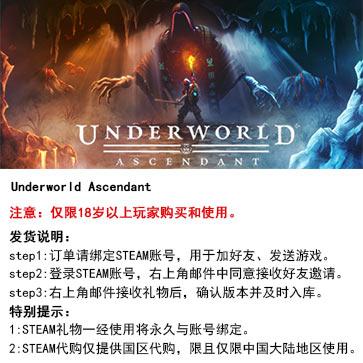 地下世界:崛起 PC版 中文 STEAM国区代购(标准版)