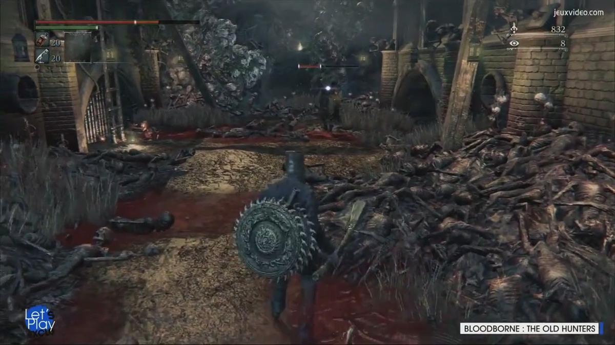 血源诅咒 老猎人 PS4版