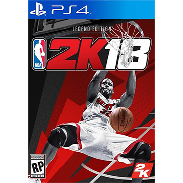NBA 2K18 PS4版 中文 包邮预售