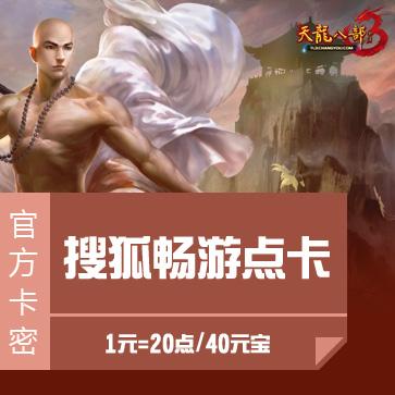 新天龙八部3 搜狐畅游点卡 官方直充