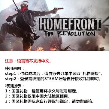 国土防线2:革命 PC版 国区礼物(标准版)