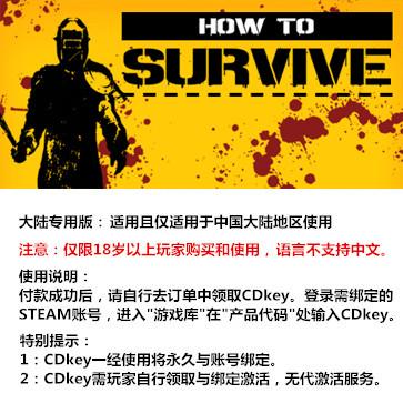 生存指南 PC版 大陆版key