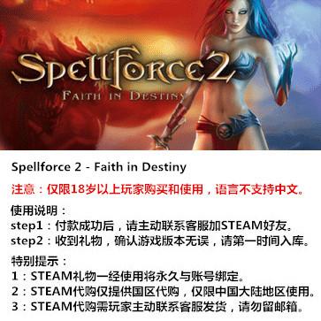 咒语力量2:命运信仰 PC版 STEAM国区代购(标准版)