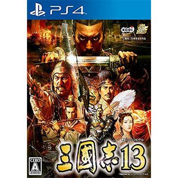 三国志13 PS4版 中文 国行盒装(标准版)