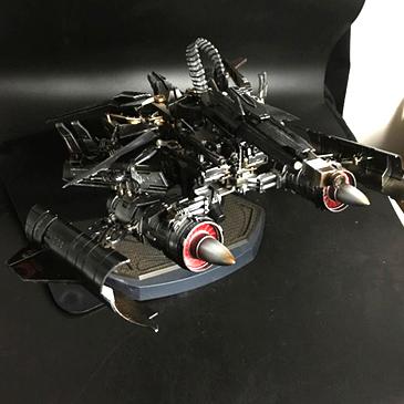乔爸重涂 变形金刚5 电影 aps01 擎天柱 11天火合体 马甲爆甲  fwi-3m 合体 战损 天火马甲成品+重涂