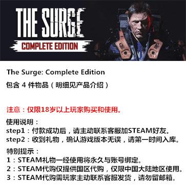 迸发 The Surge PC版 STEAM国区代购(礼包)