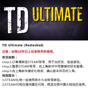 终极塔防 PC版 中文 STEAM国区代购(标准版)
