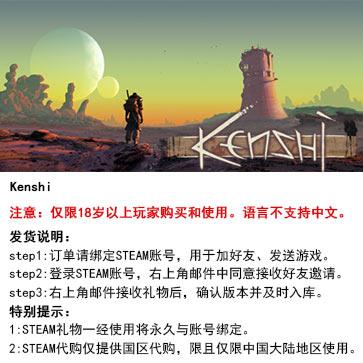 剑士 PC版 STEAM国区代购(标准版)