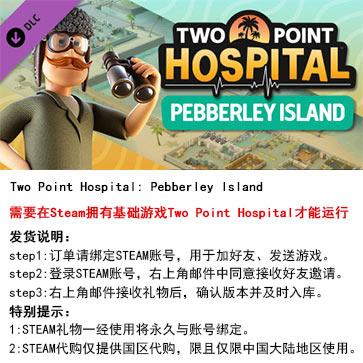 双点医院 PC版 中文 STEAM国区代购(DLC)