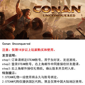 柯南:不可战胜 PC版 STEAM国区代购(标准版)