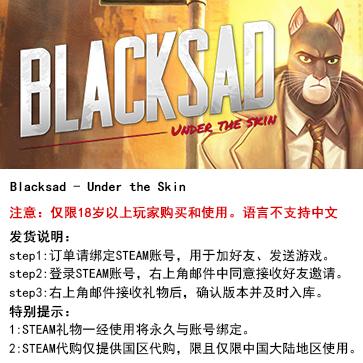 黑猫侦探:深入本质 PC版 STEAM国区代购(标准版)