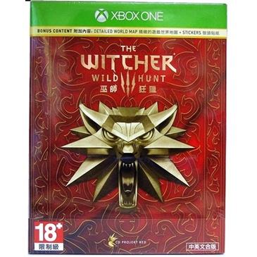 巫师3 狂猎  XBOX ONE版