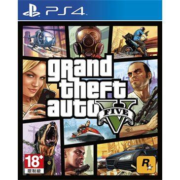 侠盗猎车手5  GTA5  PS4版